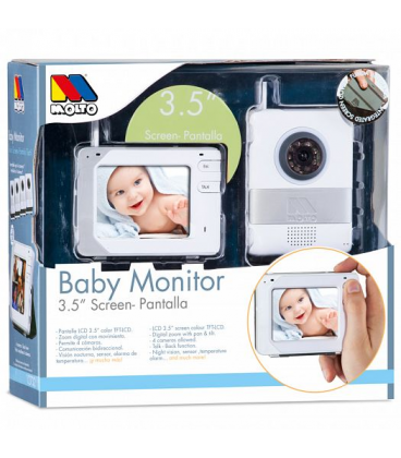baby monitor 3 5 screen chupete shop. Black Bedroom Furniture Sets. Home Design Ideas