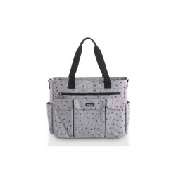 Bolso maternal XL Denin Gris